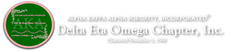 Delta Eta Omega Chapter of Alpha Kappa Alpha Sorority, Inc.